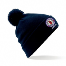 Taughmonagh Youth FC Bobble Hat - Navy 2018